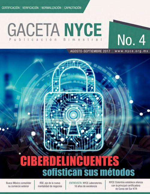 GACETA No.4 AGOSTO-SEPTIEMBRE 2017