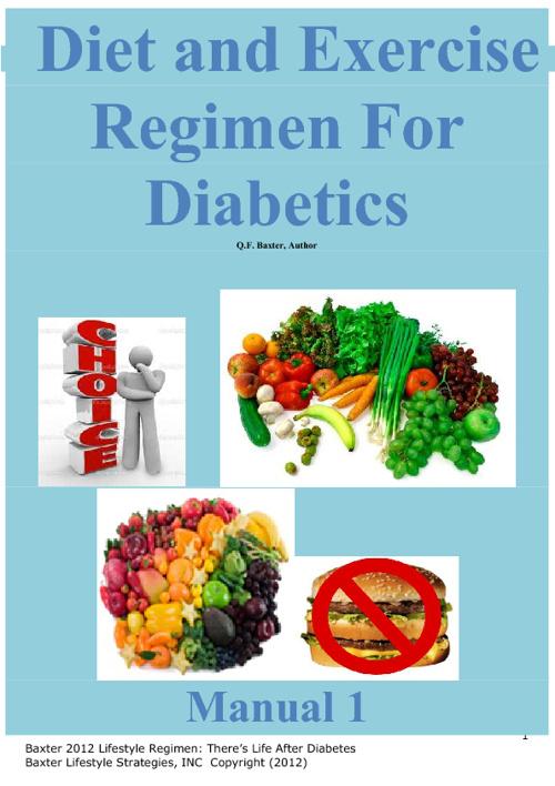 Diabetes Regimen Pt 1: Diet