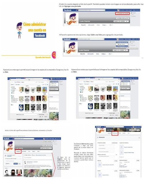 Como administrar una cuenta en FB
