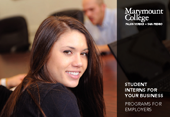 Marymount College Career Services Brochure
