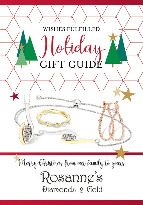 Rosanne's Diamonds & Gold Holiday Gift Guide 2017