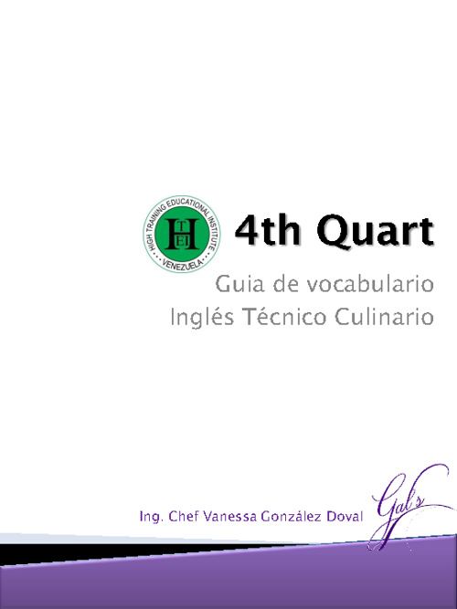 4th Quart Student's Guidebook