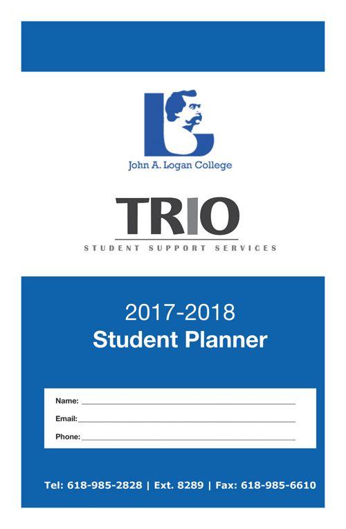 Trio Student Planner 2017 2018