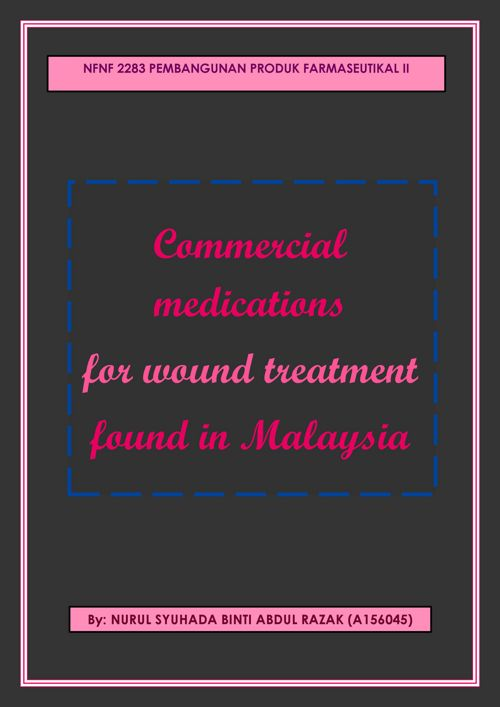 COMMERCIAL MEDICATIONS FOR WOUND TREATMENT IN MALAYSIA