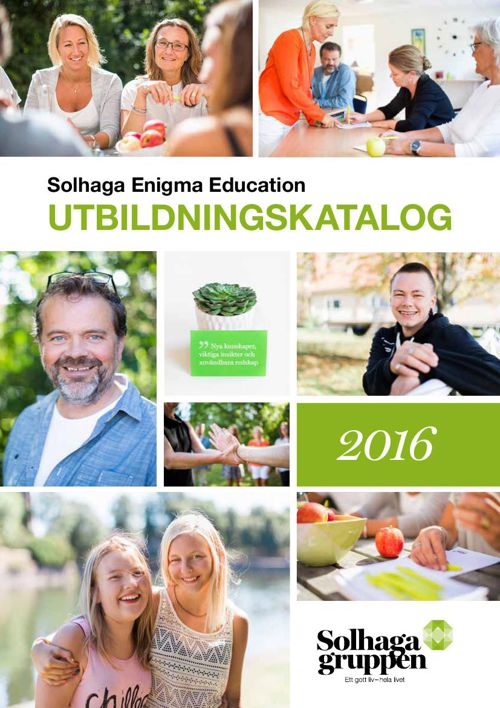 Solhaga Enigma Education - Utbldningskatalog 2016