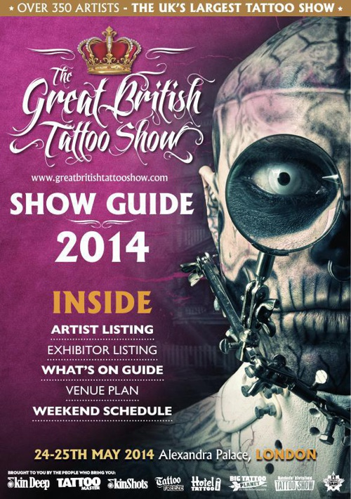 The Great British Tattoo Show Guide