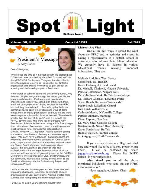 Spotlight Fall 2015