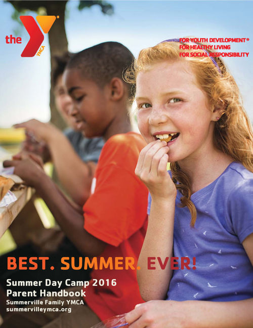 2016 Summerville Family YMCA Summer Camp Parent Handbook