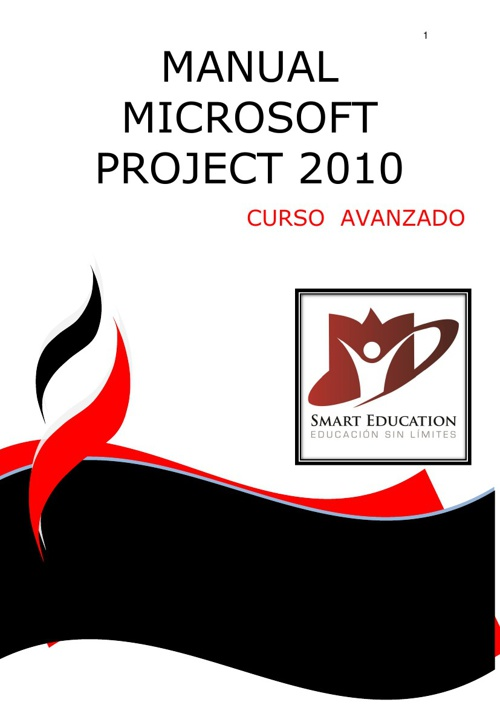 CURSO MICROSOFT PROJECT 2010 AVANZADO CON PORTADA