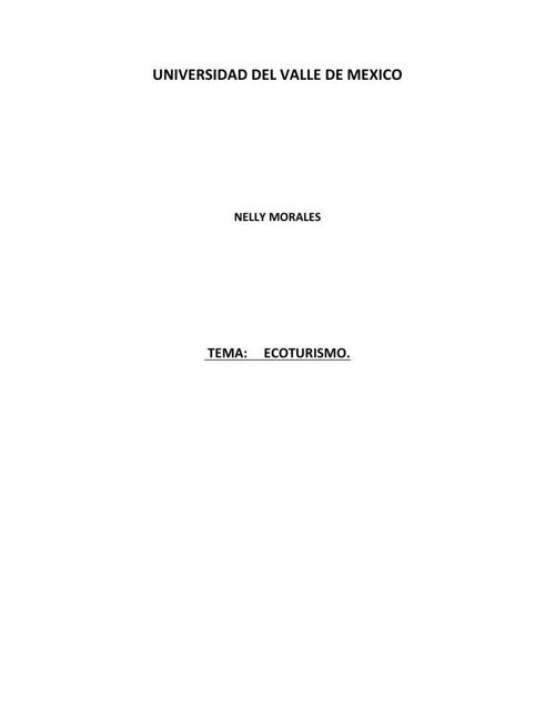 ECOTURISMO PDF