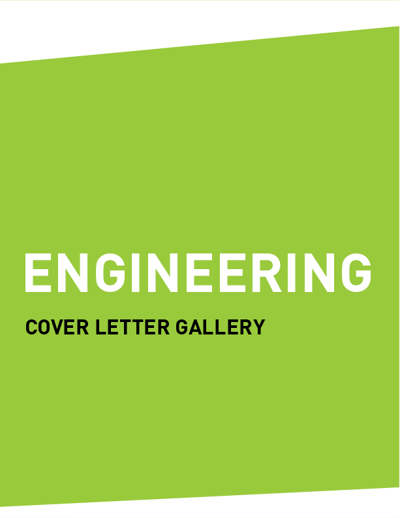 Cover Letter Gallery (ENGINEERING)