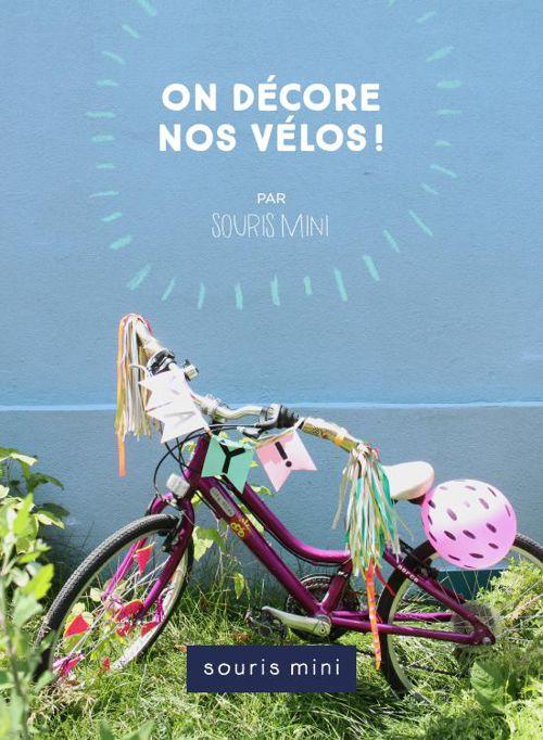 DIY Souris Mini - On décore nos vélos!