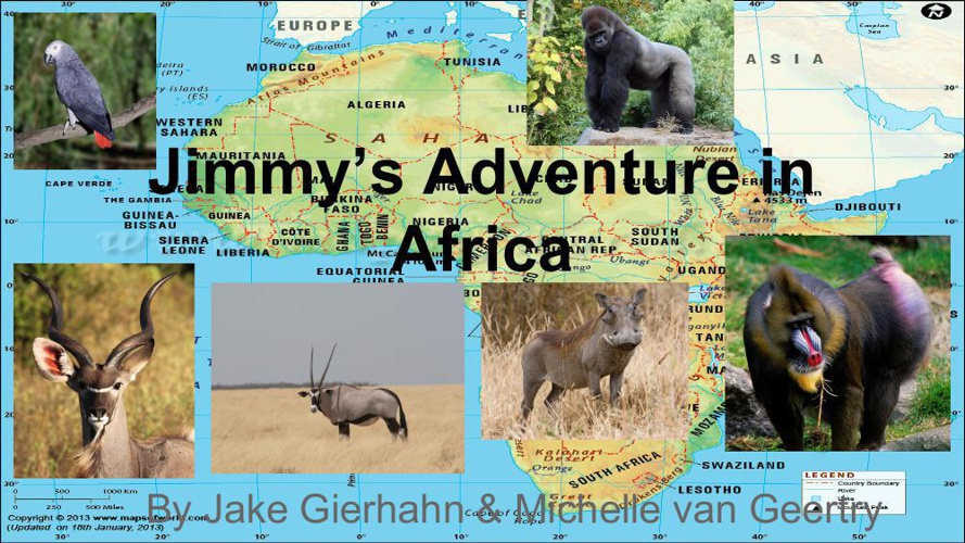 Children's Book_Jimmy's Adventure in Africa