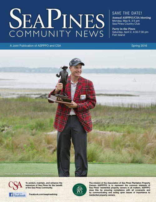 Sea Pines Community News-Spring 2016
