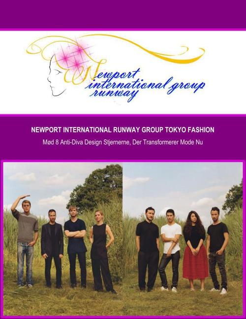 Newport International Runway Group Tokyo Fashion