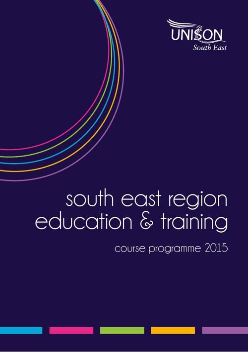 UNISON South East Education Programme 2015