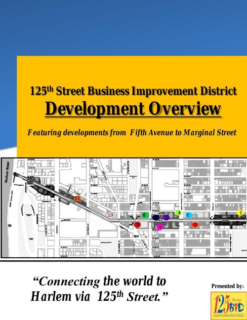 Development Overview- 125th Street BID