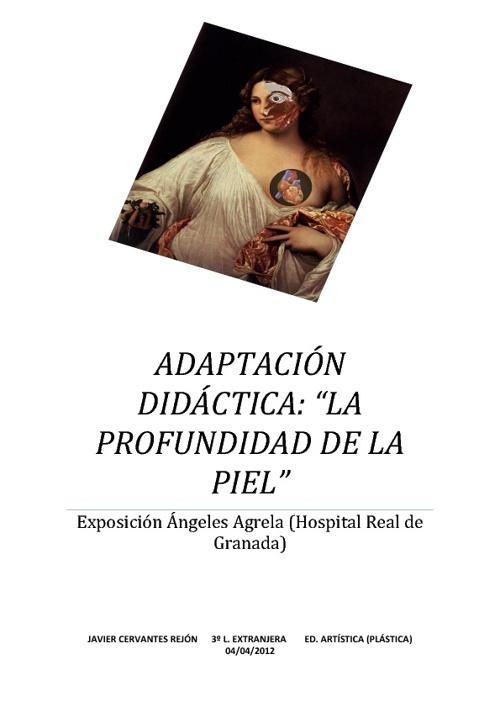 """Adaptación didáctica - """"La profundidad de la piel"""""""