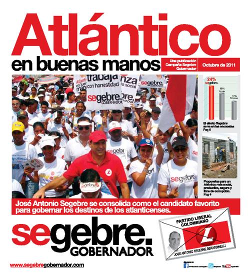 Periódico José Antonio Segebre