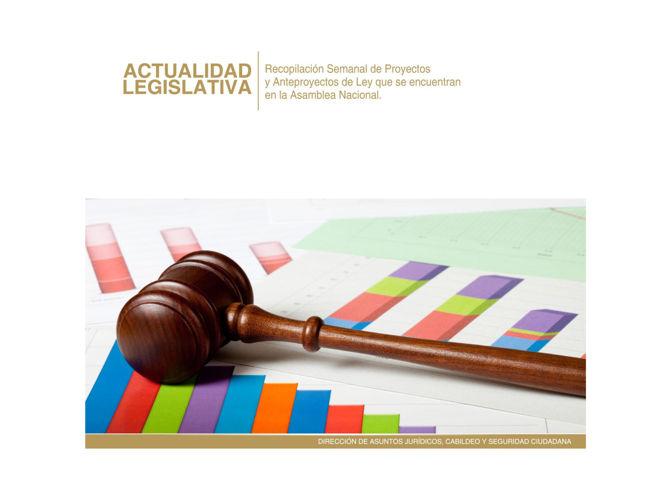 Actualidad Legislativa 12 de agosto 2016