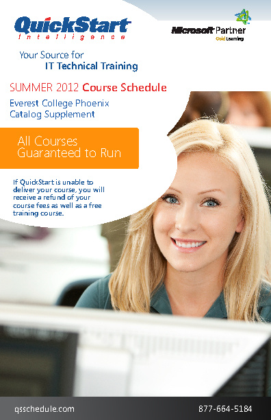Copy of QuickStart Summer Schedule Mailer