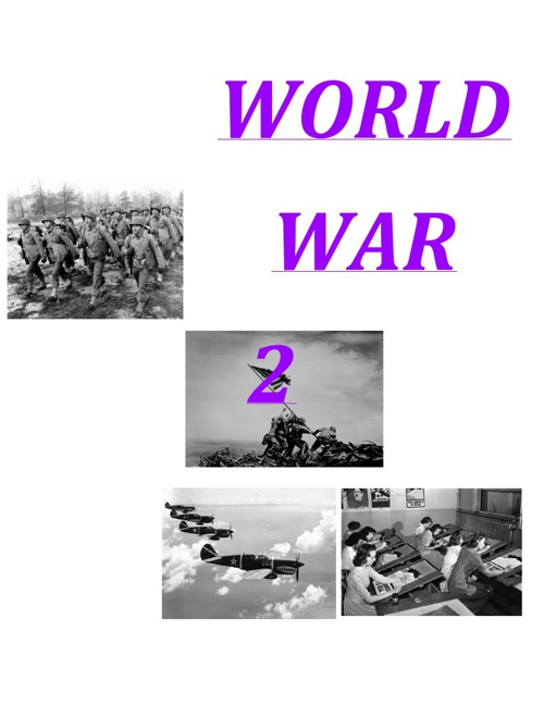 World War 2 Textbook