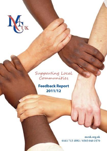 MC-UK Feedback Report 2011/12