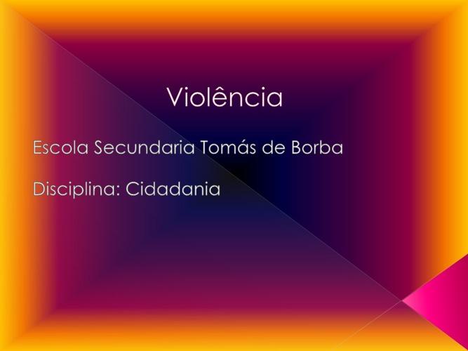 Violência 5º5