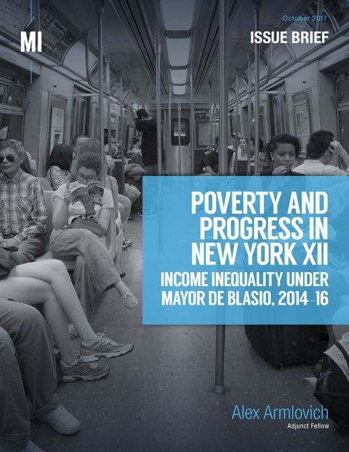 Income Inequality Under Mayor de Blasio, 2014-16