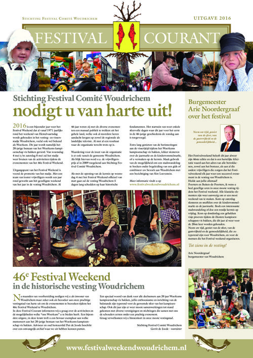 Festival Courant 2016