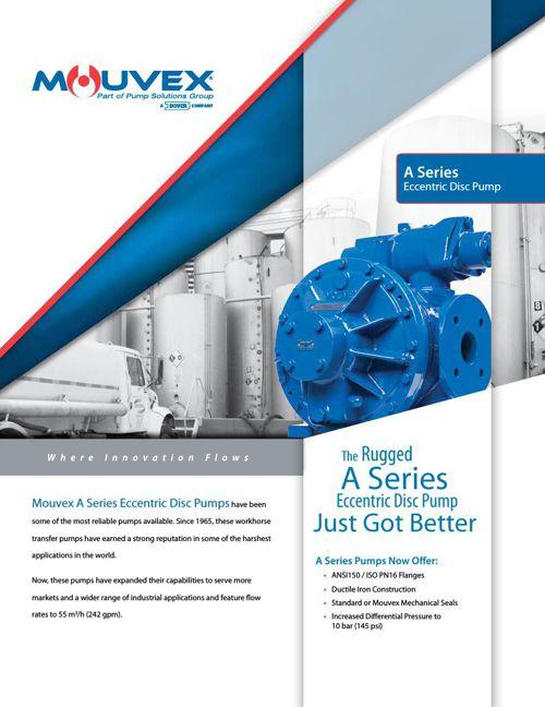 Mouvex A Series Pump