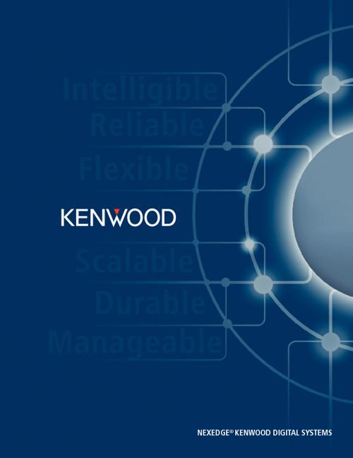 Kenwood Canada - NEXEDGE Catalog