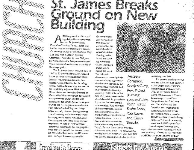 Snapshot of St. James in the News