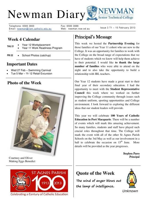 NSTC Newsletter