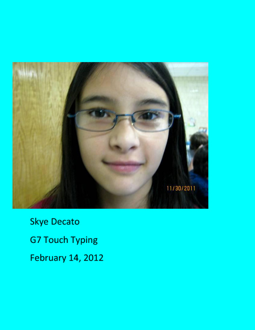 G7 Touch Typing