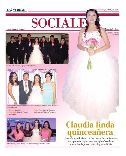 SOCIALES  19 JUNIO 2014