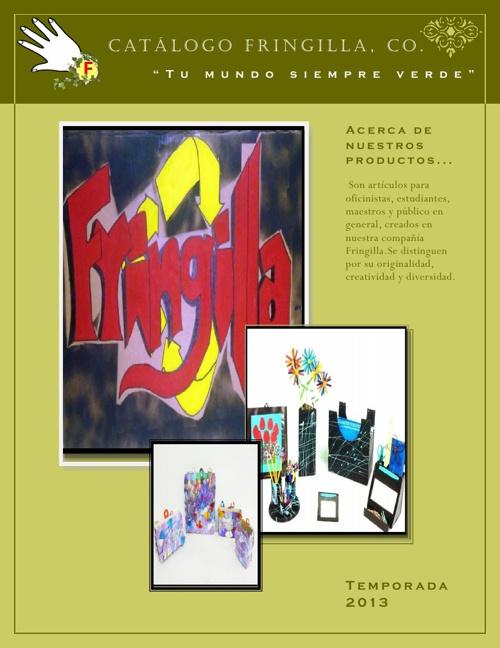 Catálogo Fringilla,Co
