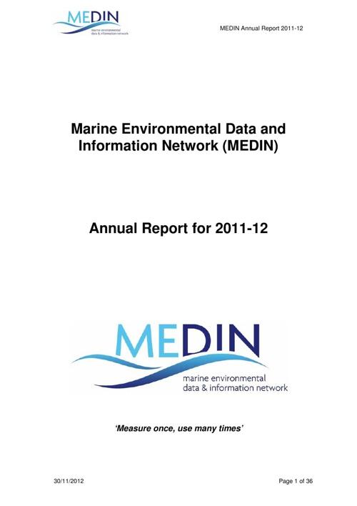 MEDIN Annual Report