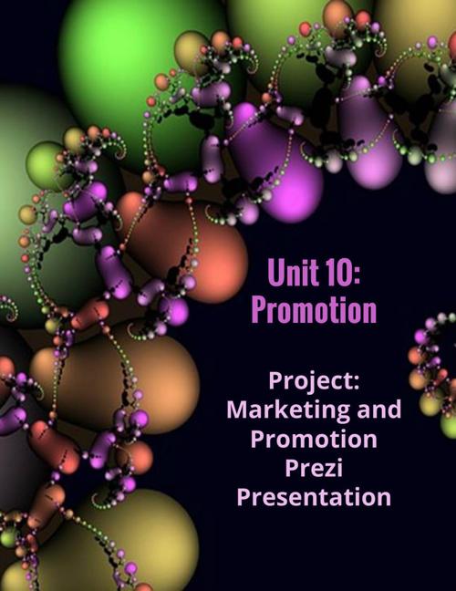 Unit 10: Promotion