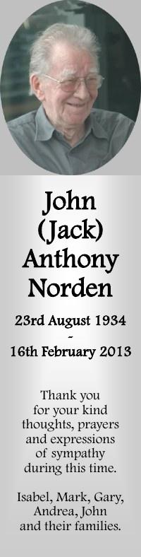 John Niorden Bookmark 2