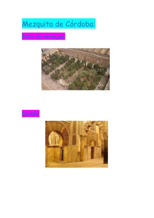 Mezquita de córdoba:)