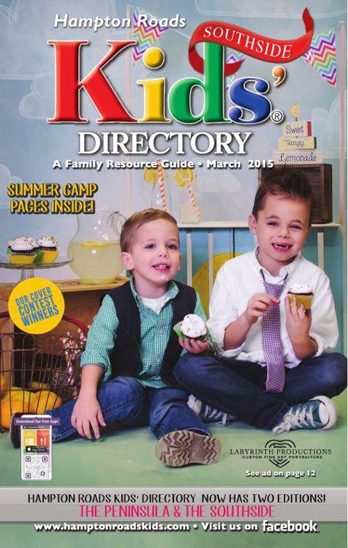 Hampton Roads Kids' Directory - March 2015 Southside Edition