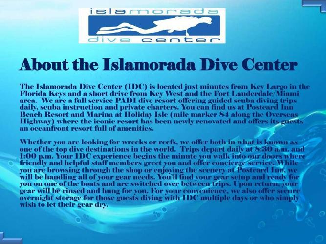 Scuba diving islamorada
