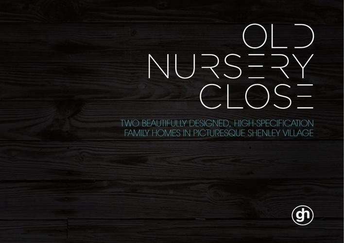 Old Nursery Brochure Close