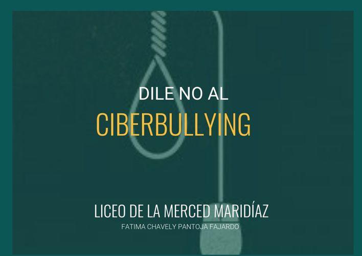 Dile no al ciberbullying