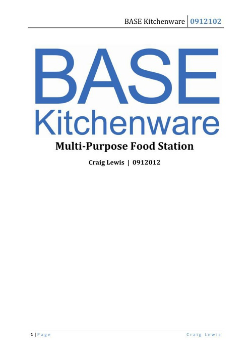 BASE Kitchenware