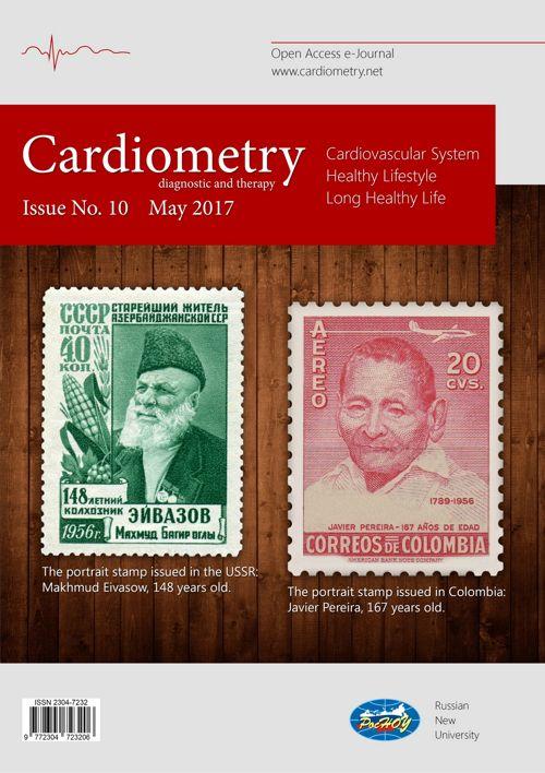 Open access e-journal Cardiometry - No.10 May 2017