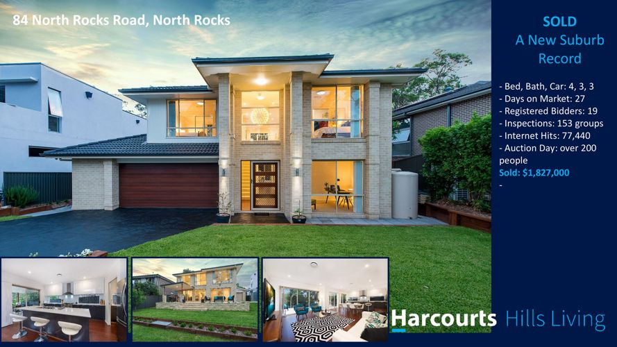 Sold- New Suburb Record