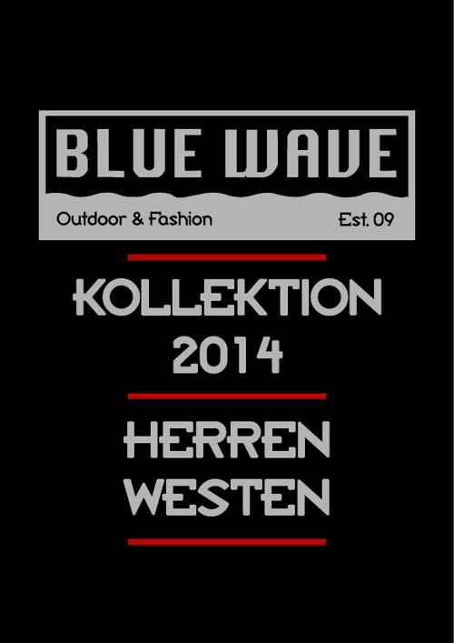 HERREN WESTEN BLUE WAVE KATALOG 2014