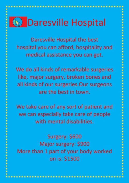 Daresville hosppital